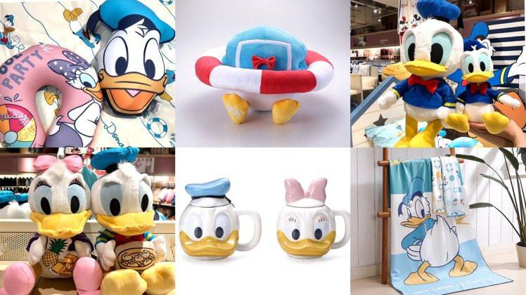 HOLA迪士尼唐老鴨聯名系列。