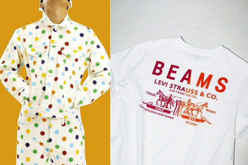 隨著501日到來,LEVI'S推出與美國知名饒舌歌手 Tyler, the Creator (造物主泰勒)、Beams合作限定款服飾。圖/LEVI'S提供、摘自Beams Japan官網