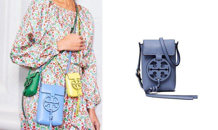 Tory Burch春夏推出一款附肩背帶的迷你包,可以當作錢包和小巧的收納包使用...