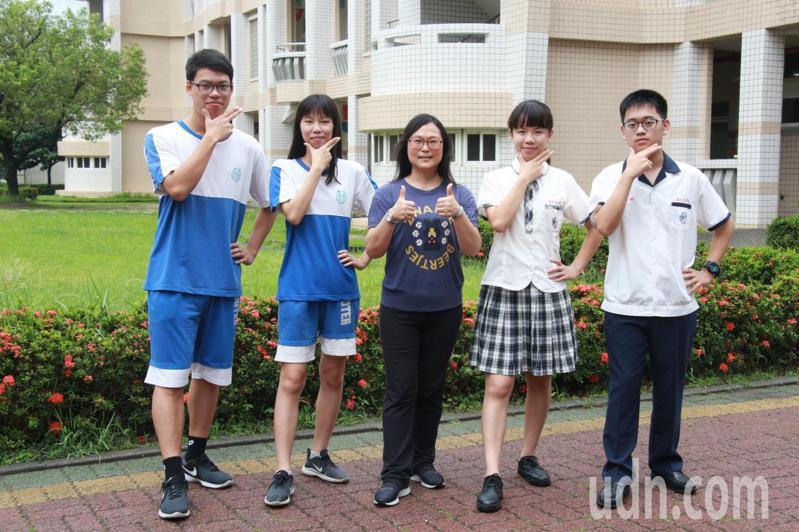 台南市南光高中個人申請上榜成績亮眼。圖/校方提供