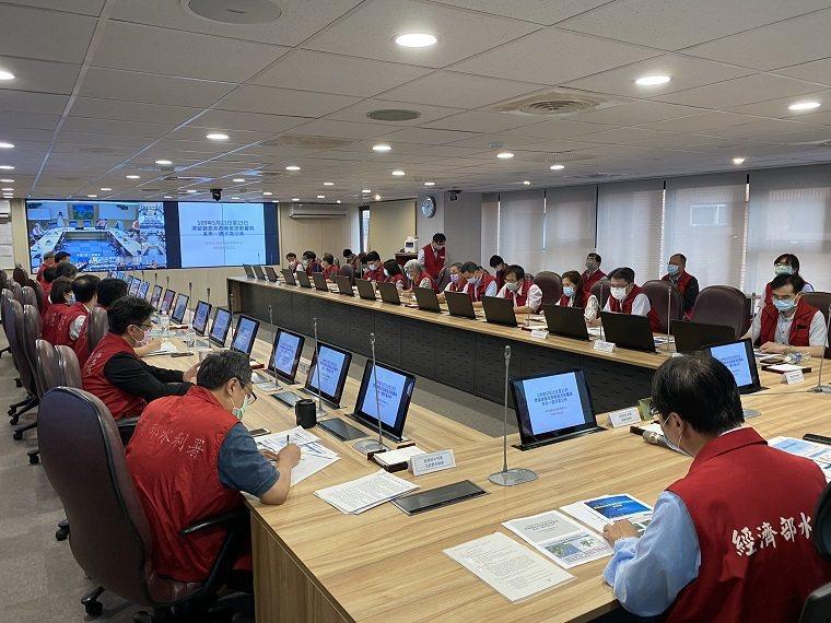 因應滯留鋒面及西南氣流,水利署召開防汛整備視訊會議。圖/水利署提供