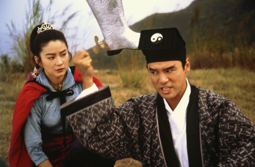 「射鵰英雄傳之東成西就」即將在6月19日重返大銀幕。圖/CATCHPLAY提供