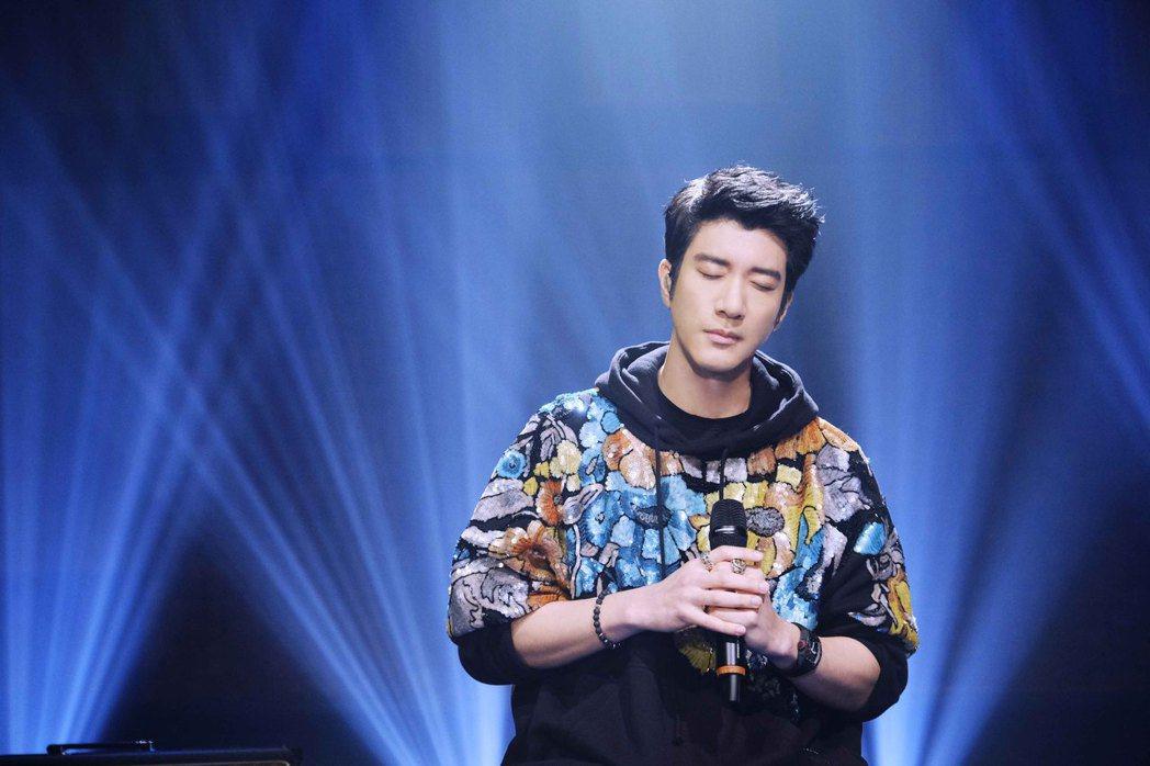 王力宏參與的「天賜的聲音」節目上周播畢。圖/宏聲音樂提供