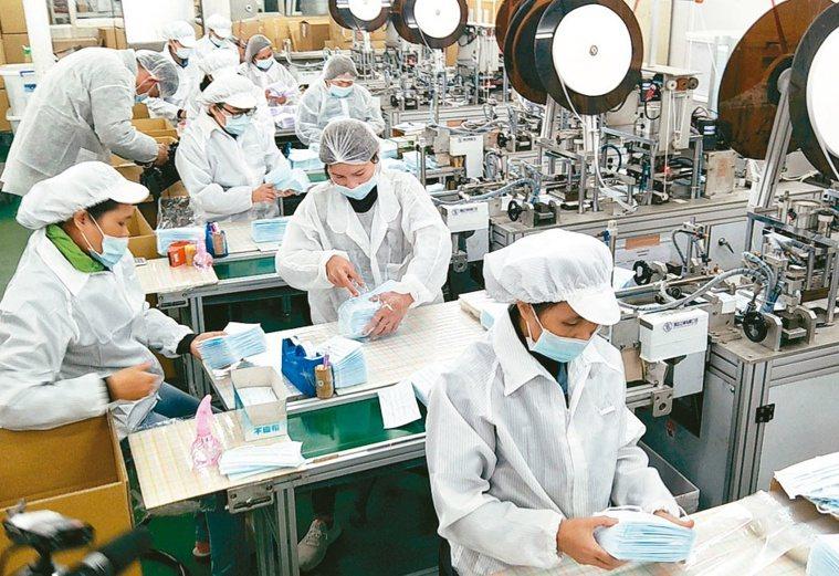 6月1日起國產口罩將部分開放內外銷。 (本報系資料庫)