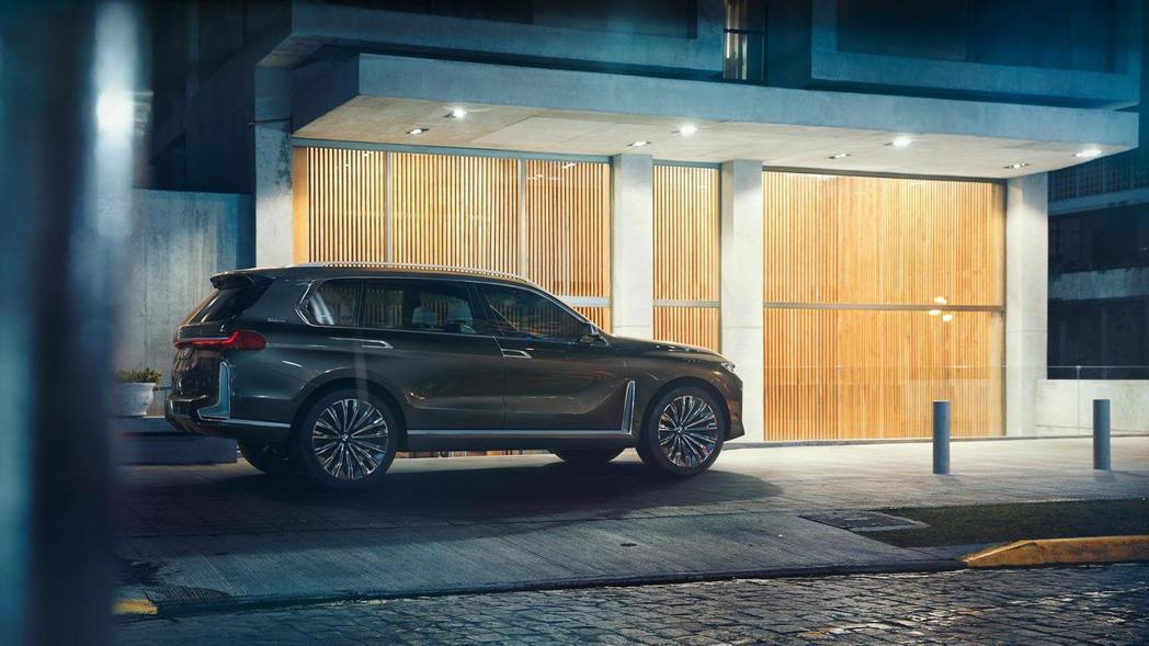 圖為BMW Concept X7 iPerformance。 摘自BMW