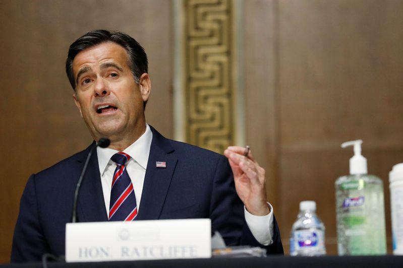 美國參議院以49票贊成、44票反對,通過雷克里夫(John Ratcliffe)出任國家情報總監(DNI)人事案法新社