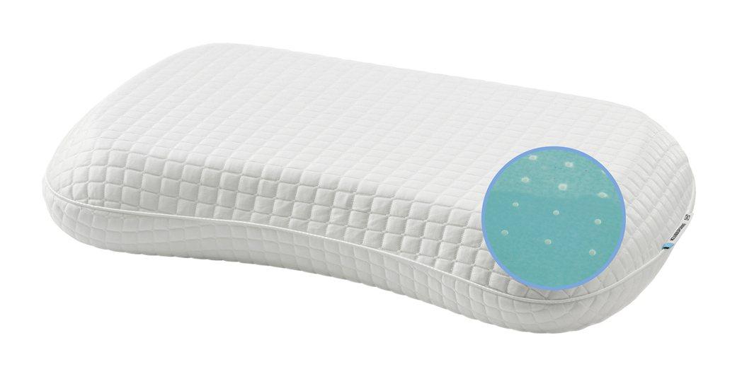 熱賣款KLUBBSPORRE人體工學枕一面是記憶泡棉舒適且有完美支撐力,另一面再...