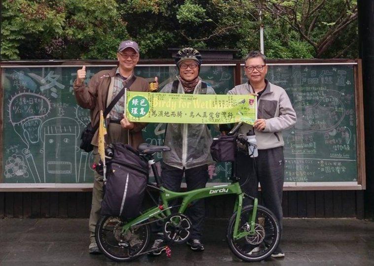 林昆海騎單車探索台灣,用心享受過程,收穫滿滿。 圖/林昆海提供