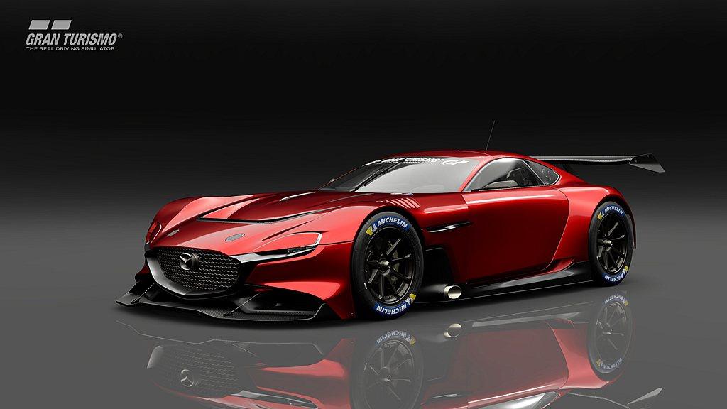 在《Gran Turismo Sport》中,玩家可駕駛包括RX-VISION ...