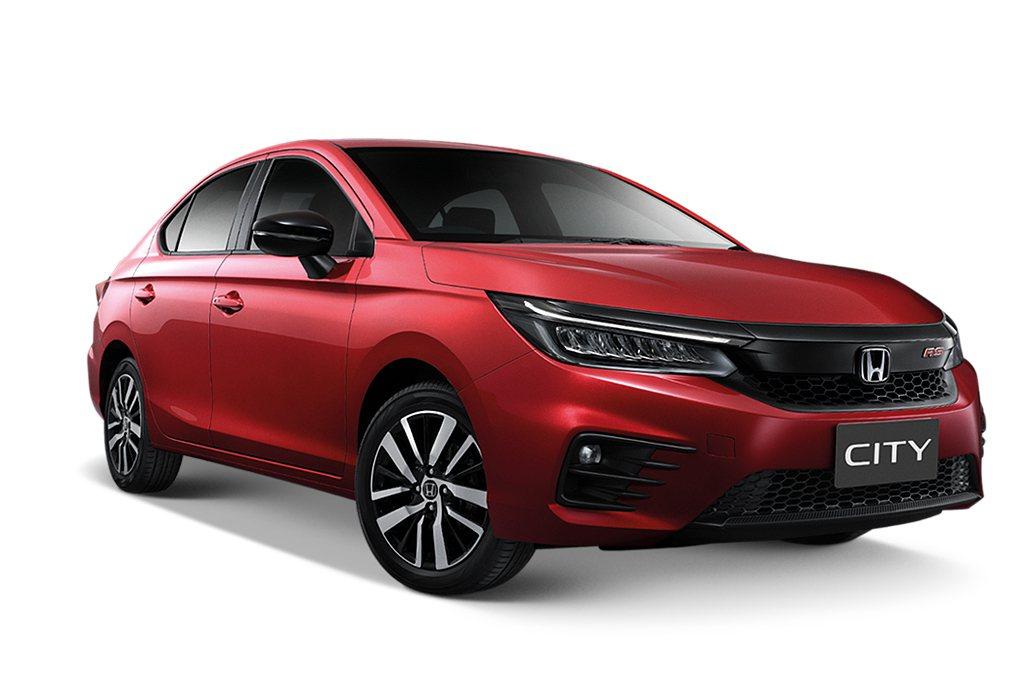 新世代Honda City全球首發後,也將開始拓展到其他市場銷售。 圖/Hond...