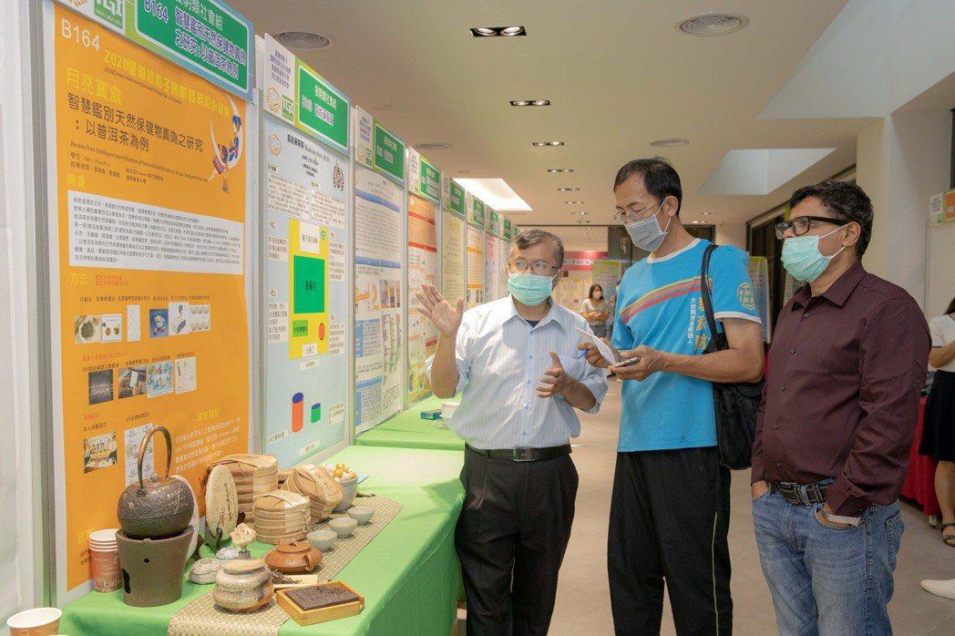 來自孟加拉的阿米爾研發出用ai篩選普洱茶。 嘉藥/提供