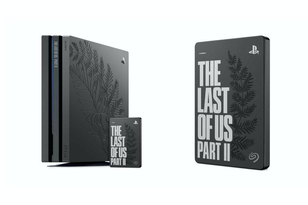 Seagate因應《最後生還者 二部曲》推出限定版外接硬碟