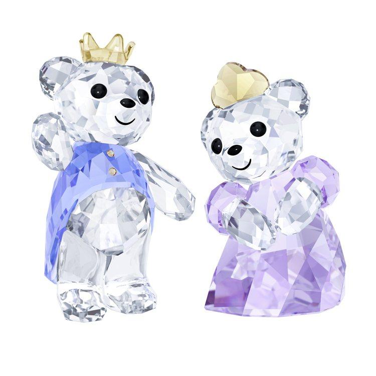 施華洛世奇Kris小熊–王子與公主/4,990元。圖/施華洛世奇提供