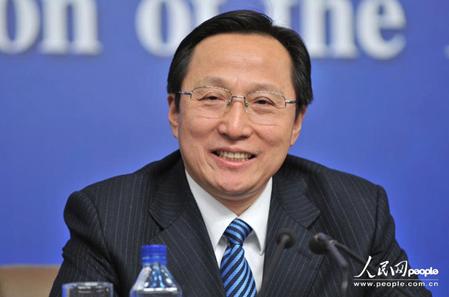 中共農業部部長韓長賦。(人民網)