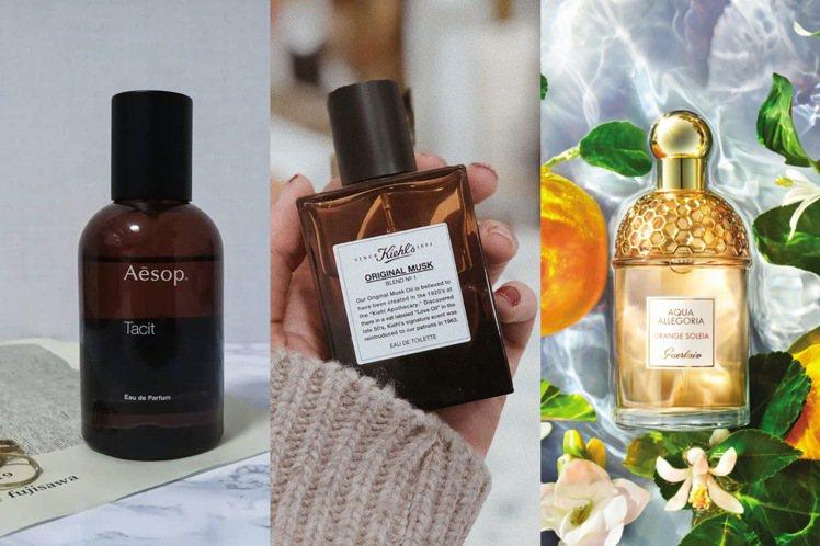 保養品牌推出的默默熱賣香水。圖/摘自IG、嬌蘭提供