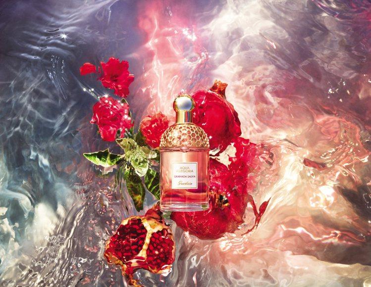 嬌蘭花草水語「夏恣紅榴」淡香水系列/70ml/3,050元。圖/嬌蘭提供