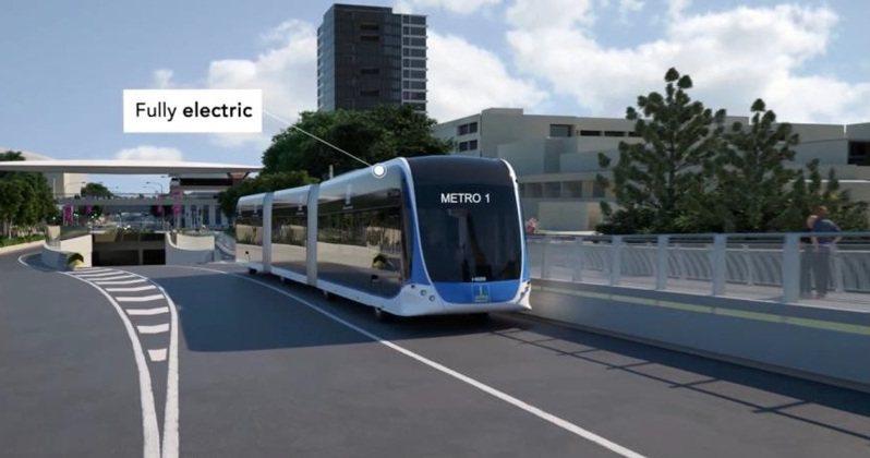 台南市目前進度最快的捷運第一期藍線已進入綜合規畫階段。圖/台南市交通局提供