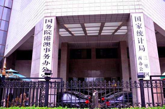 中共國務院港澳辦公室。圖/香港文匯網