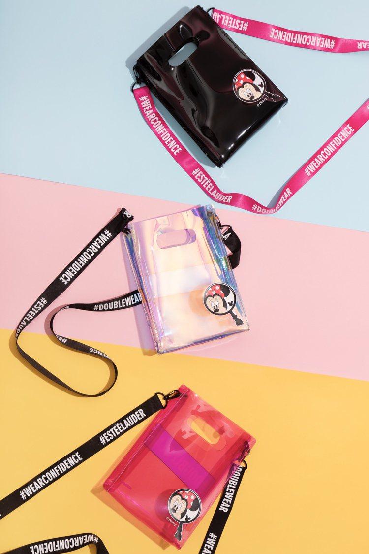 專為這次活動打造的限量的「米妮限定玩色潮包」只要任買明星底妝粉持久系列指定產品2...