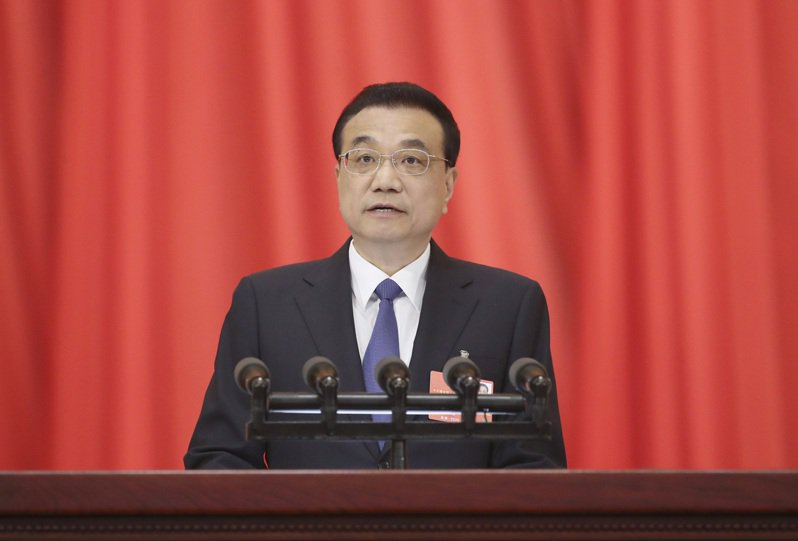 中國大陸全國人大今天開幕,中共國務院總理李克強作政府工作報告。中新社