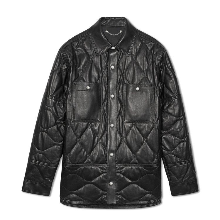 Berluti,絎縫羊皮長版外套,21萬7,000元。圖 / Berluti提供...
