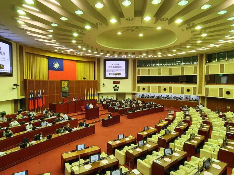 台北市議會下午進行民政部門質詢。記者楊正海/攝影