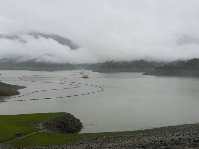 台南市曾文水庫有明顯進帳。圖/南區水資源局提供
