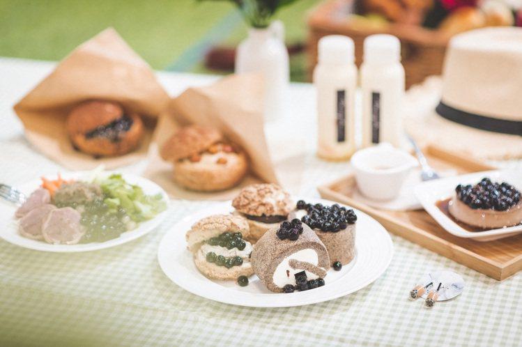 夢時代「你今天珍奶了嗎」特展集結各式珍珠飲品、美食。圖/夢時代提供