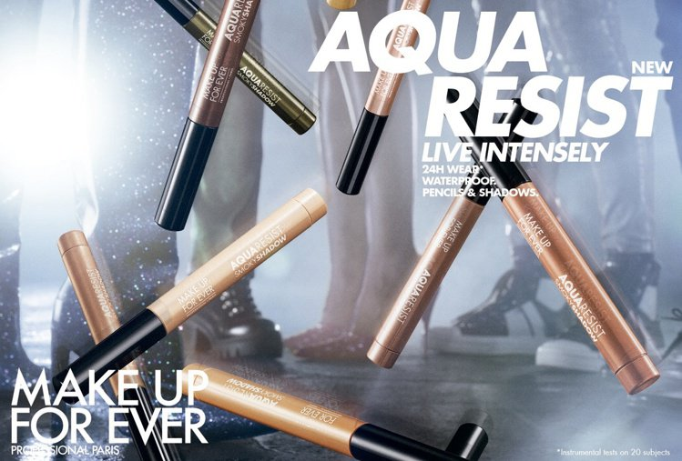 MAKE UP FOR EVER針對AQUA推出全球首賣的「AQUA 24H 防...