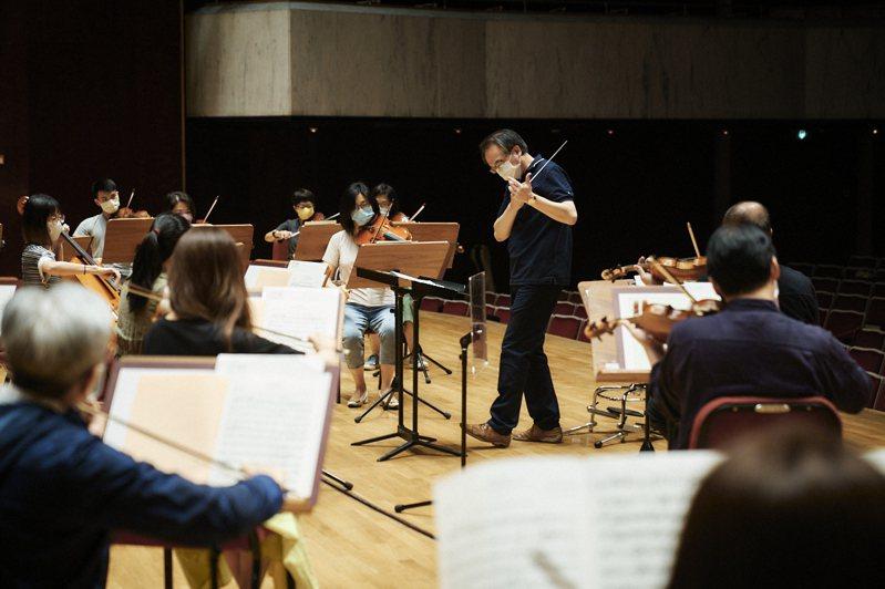 NSO《管絃織音》藝文新生活運動試辦場 24日演出。圖╱NSO提供