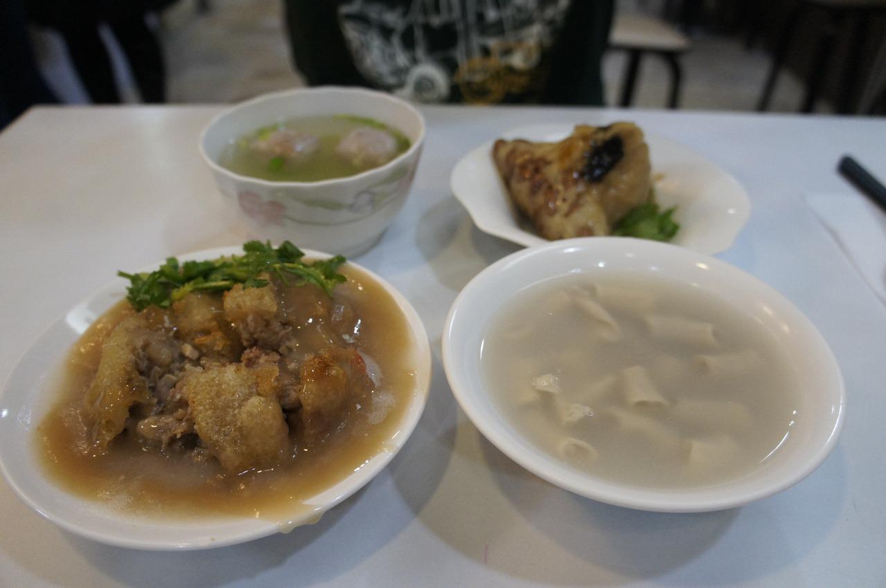 美食新天地/寶島肉圓店 芋香招牌美味