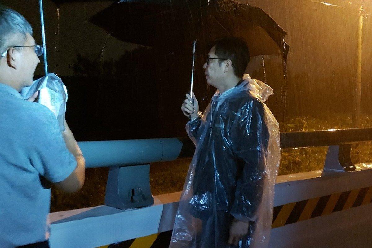罷韓活動首日 陳其邁晚間十點半奔高雄視察