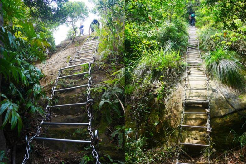 台北著名的攀岩場「皇帝殿登山步道」 各路登山好手、攀岩菜鳥必去名單!