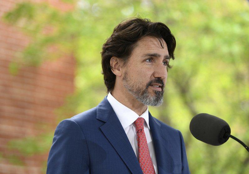 加拿大總理杜魯道。 美聯社