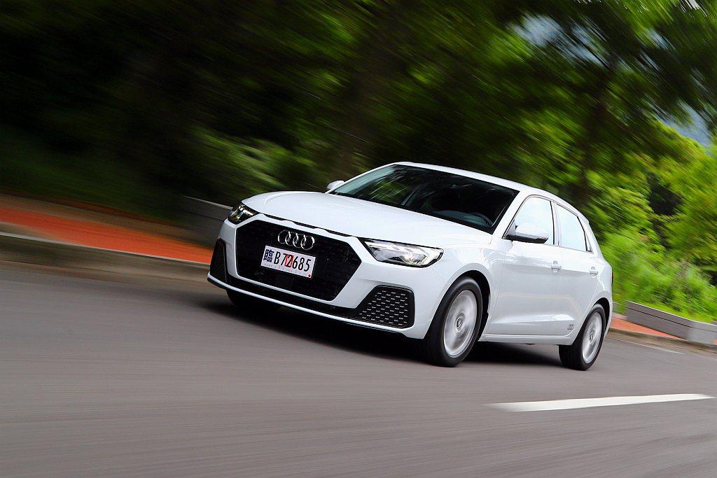 全新第二代Audi A1 Sportback終於登台開始販售。 記者張振群/攝影