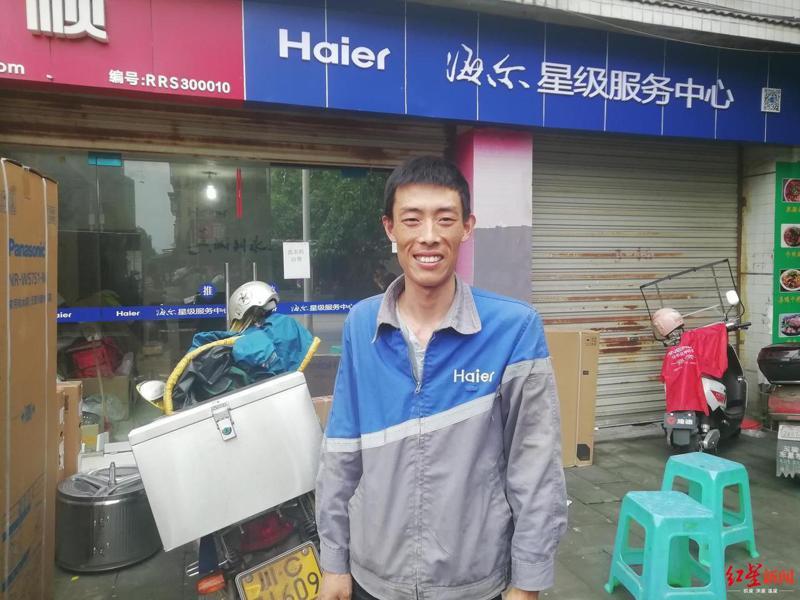 胡雲川因救下懸空6樓女童,獲公司贈與一套價值人民幣60萬元的房產(新台幣約253萬元)。圖擷自Youtube