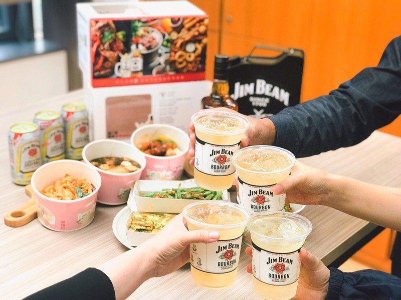金賓聯手foodpanda推出可「量身打造」的餐搭酒。圖/金賓提供  【未成年請勿飲酒,酒後不開車】