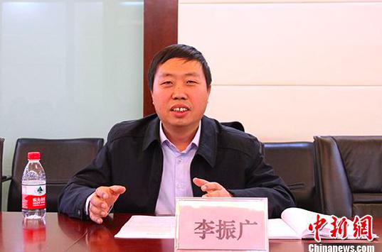北京聯合大學台灣研究院副院長李振廣表示,兩岸統一的路徑不止一條。(中新社)