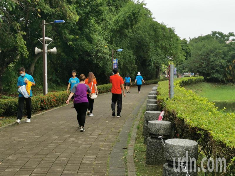 嘉義市北香湖公園,是地方居民重要活動區域。記者卜敏正/攝影