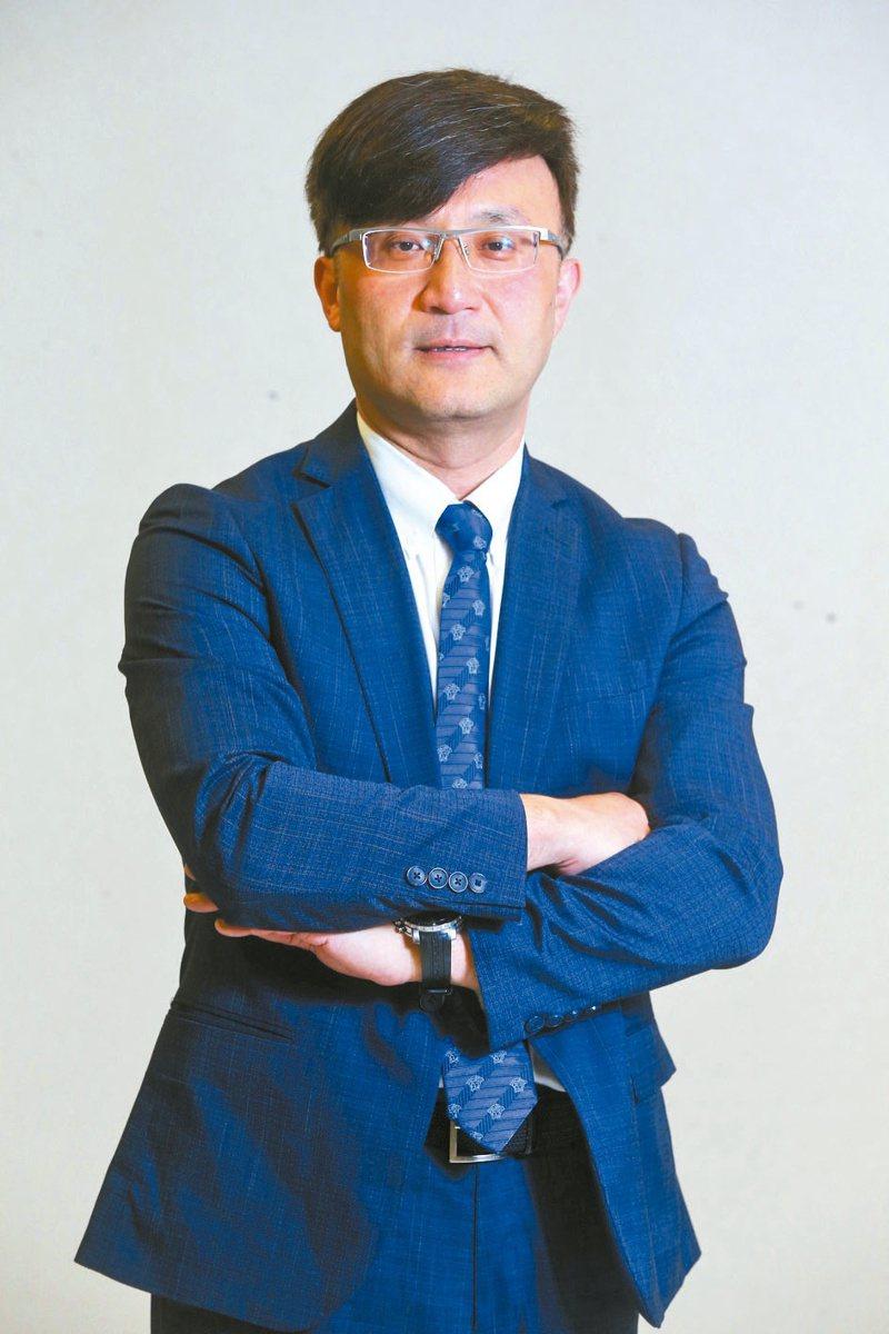 第一金投顧董事長陳奕光。本報資料照片