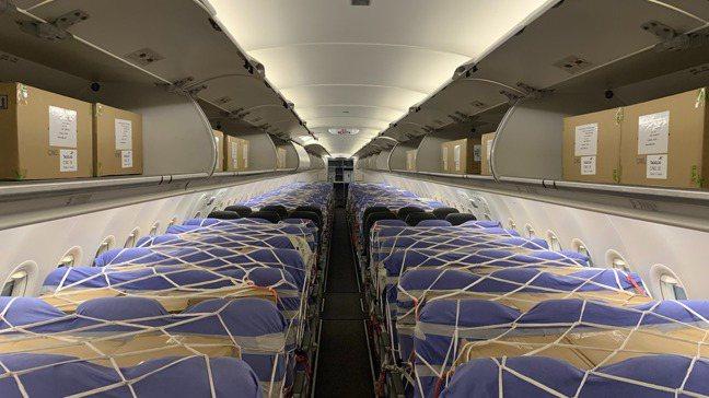 航空業客機變貨機搶攻龐大的航空貨運需求。圖/業者提供