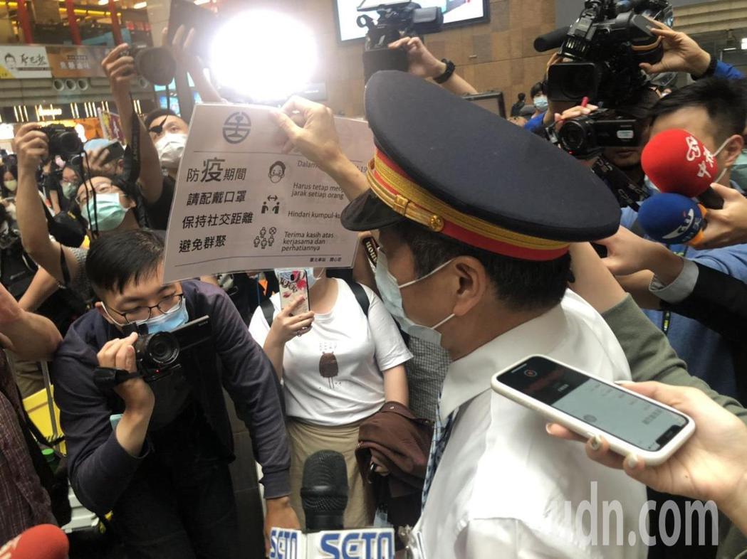 台北站長黃榮華。記者曹悅華/攝影
