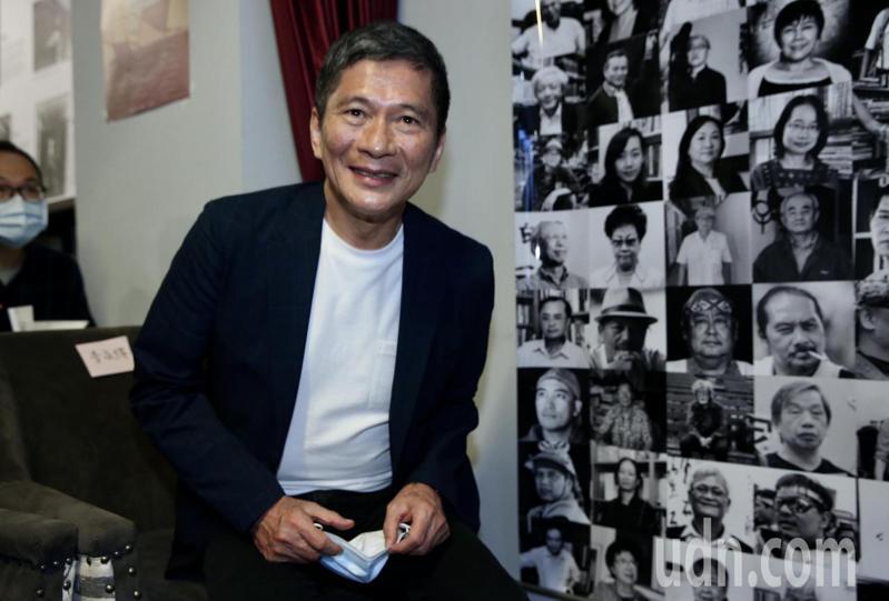 文化部長李永得(圖)出席潘小俠新書「台灣作家ㄧ百年」發表會。記者林俊良/攝影