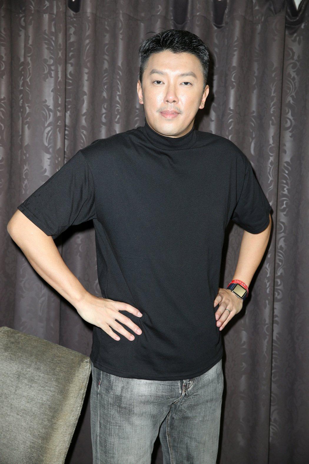 段鈞豪以「下半場」提名台北電影獎最佳男配角,讓他相當開心。圖/記者曾吉松攝