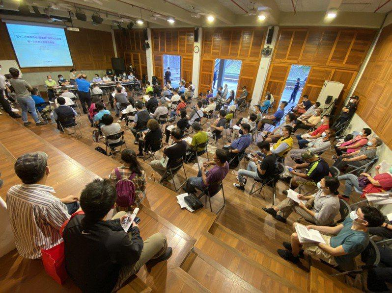 營建署今天在宜蘭縣政府舉辦「五十二甲重要濕地(國家級)保育利用計畫」第一次專案小組審查會議。記者羅建旺/攝影