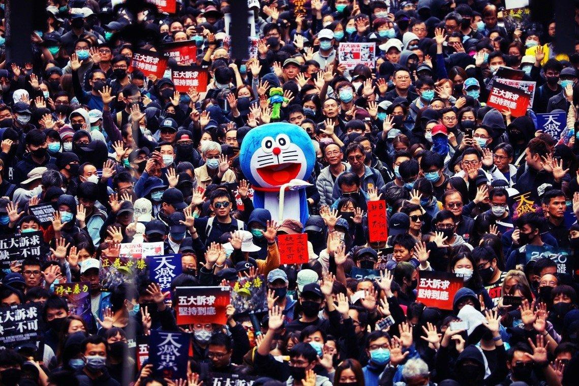 反「國歌法」 香港網民今發起示威活動 警方戒備