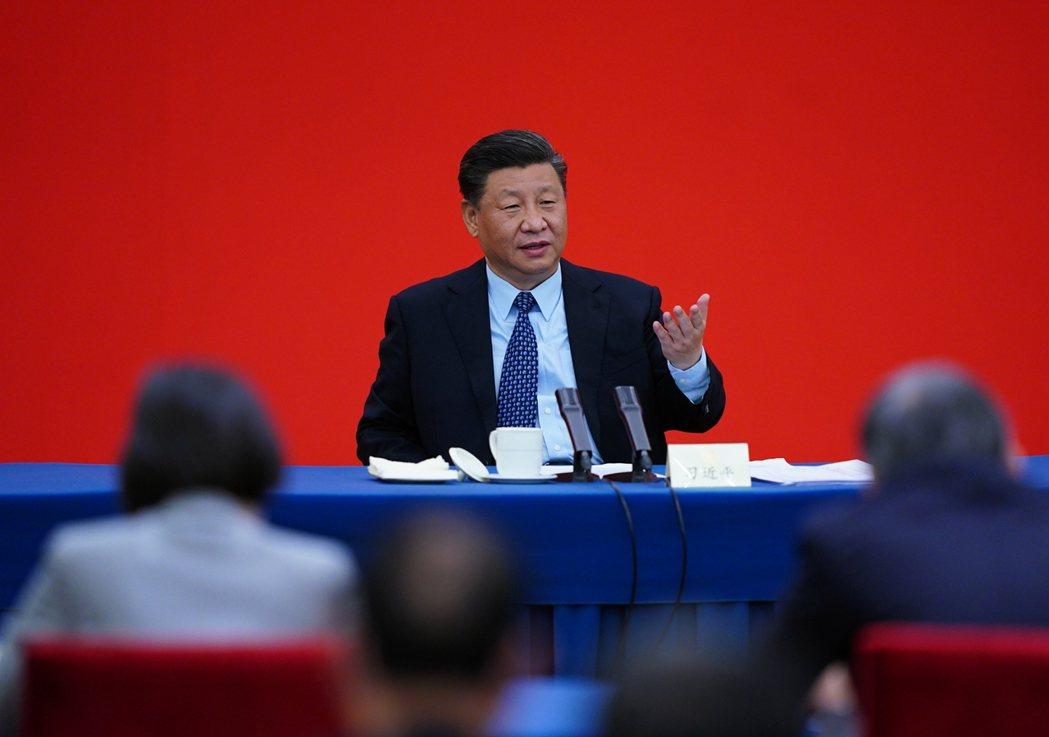 中國兩會在21、22日展開,圖為中共總書記習近平。圖/新華社