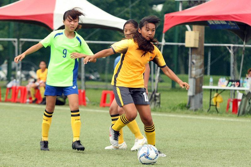 台東成功國小挺進八強賽。圖/迷你足球協會提供