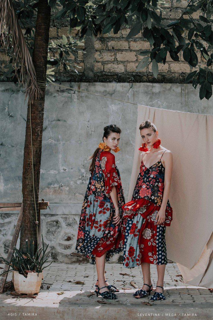 Biyan 2020春夏系列以仲夏夜之夢結合印尼細緻刺繡工藝為主軸。圖/onef...