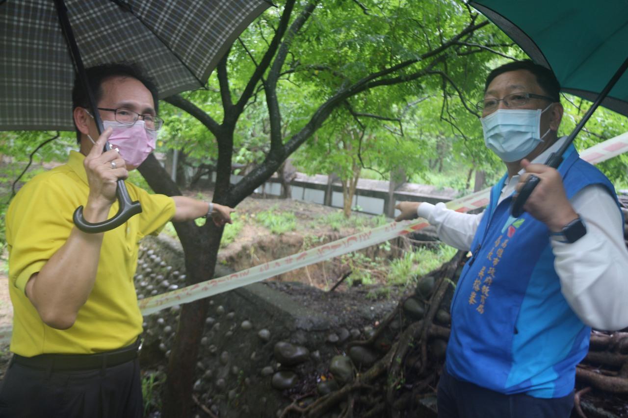 23校雨損 高市爭國教署經費修復
